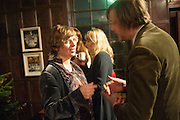 DEBORAH CURTIS; DAN LOBB, The house of fairly tales exhibition launch. Sutton House. , 2 and 4 homerton high st. london.  E9 6JQ 12 December 2012.