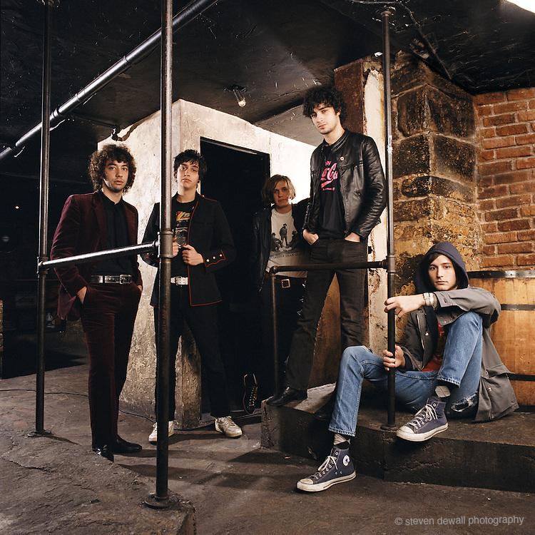 The Strokes in New York City 2005