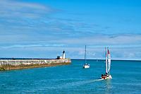 France, Vendée (85), Les Sables-d'Olonne, la jetée // France, Vendée, Les Sables-d'Olonne, the jetty