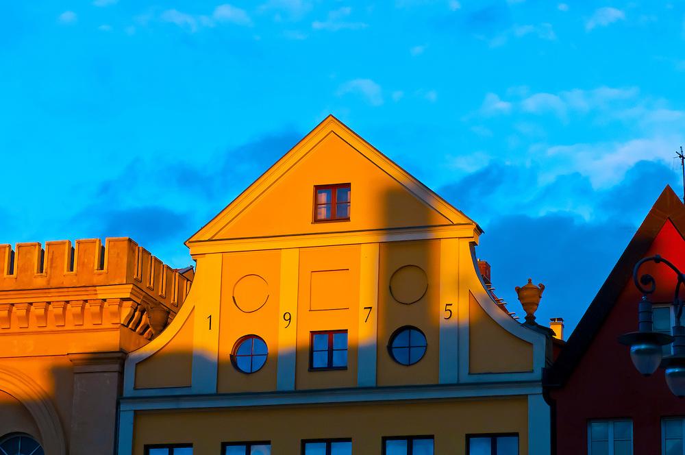 Market Square, Schwerin, Mecklenburg-West Pomerania, Germany