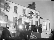 President Sean T O'Ceallaigh opens Central Remedial Clinic, Goatstown.12/01/1955