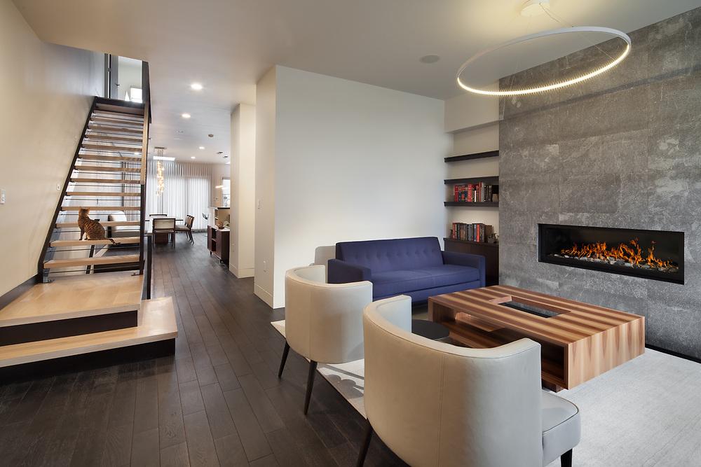 1311 22nd street NW living room, stairway, kitchen VA2_107_255