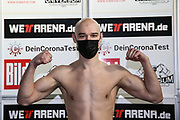 BOXEN: Universum Boxpromotion, Waage, Hamburg, 19.22.2021<br /> Sasha Alexander (GER)<br /> © Torsten Helmke