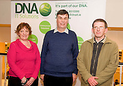 """Dervla Geraghty Boston Scientific , Frank Swift Sligo and Micheal O Donohoe CCI at the CIMA """"Cloud computing and your business """"    seminar in Hotel Meyrick Galway. Photo:Andrew Downes"""