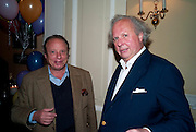 JONATHAN BECKER; GRAYDON CARTER, Kate Reardon and Michael Roberts host a party to celebrate the launch of Vanity Fair on Couture. The Ballroom, Moet Hennessy, 13 Grosvenor Crescent. London. 27 October 2010. -DO NOT ARCHIVE-© Copyright Photograph by Dafydd Jones. 248 Clapham Rd. London SW9 0PZ. Tel 0207 820 0771. www.dafjones.com.