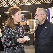 NLD/Zutphen/20191102 - Groot Dictee ter Nederlandse Taal, Ingrid van Engelshoven in gesprek met Oscar Hammerstein