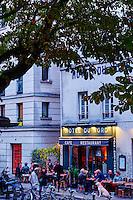 France, Paris (75), Hotel du Nord sur le Canal Saint Martin // France, Paris, Hotel du Nord on the Canal Saint Martin