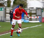 Johl Powell of Charlton Athletic during under-23 professional development league match between Watford and Charleton Athletic at Charleton Athletic Park Stadium, Monday, Feb. 3, 2020, in St. Albans, United Kingdom. (Mitchell Gunn-ESPA Images/Image of Sport)