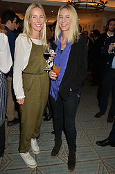 Left to right, sisters RUTH POWYS close friend of the late Mark Shand and MARY POWYS at a party to celebrate the publication of 'Let's Eat meat' by Tom Parker Bowles held at Fortnum & Mason, Piccadilly, London on 21st October 2014.