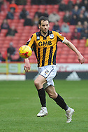 Ben Purkiss of Port Vale during the Sky Bet League 1 match between Sheffield Utd and Port Vale at Bramall Lane, Sheffield, England on 20 February 2016. Photo by Ian Lyall.