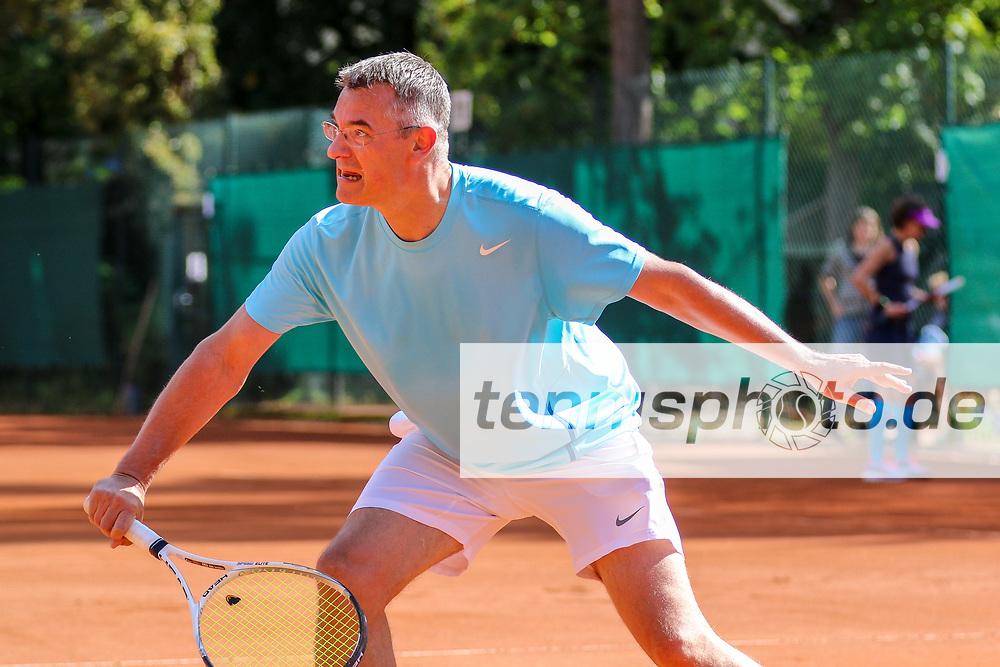 Kausch, Heiner (Grunewald Tennis-Club), Herren 50+, Grunewald-Open 2017, Finals, Berlin, 17.09.2017, Foto: Claudio Gärtner