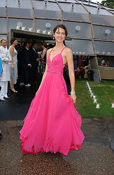 Actress MARGO STILLEY at the annual Serpentine Gallery Summer Party co-hosted by Jimmy Choo shoes held at the Serpentine Gallery, Kensington Gardens, London on 30th June 2005.<br />