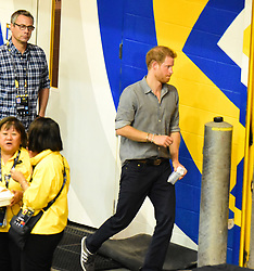 Prince Harry spotted at Invictus Games Wheel Chair Volley ball at the Ryerson University in Toronto Canada. 27 Sep 2017 Pictured: Prince Harry. Photo credit: 246paps/MEGA TheMegaAgency.com +1 888 505 6342