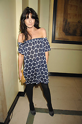 CLAUDIA WINKLEMAN at the 10th Anniversary Party of the Lavender Trust, Breast Cancer charity held at Claridge's, Brook Street, London on 1st May 2008.<br /><br />NON EXCLUSIVE - WORLD RIGHTS