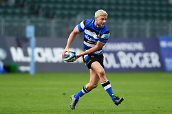 Rhys Priestland of Bath Rugby in possession - Mandatory byline: Patrick Khachfe/JMP - 07966 386802 - 21/11/2020 - RUGBY UNION - The Recreation Ground - Bath, England - Bath Rugby v Newcastle Falcons - Gallagher Premiership