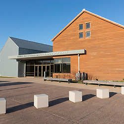 The visitor center at the Harriet Tubman Underground Railroad State Park in Church Creek, Maryland.