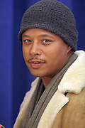 """Terrence Howard,  at """" Cat on a Hot Tin Roof """" Press conference announcing limited broadway run,  at Broad Hurst Theater on January 8, 2008 in New York City"""