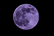 The Pink Moon as seen from Ireland 2021.<br /> Photo Don MacMonagle macmonagle.com