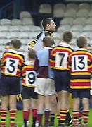 Shepards Bush, West London, UK., 30.09.2001, Wasp's debutante, Ian Jones.<br /> London Wasps vs Stade Francais, Loftus Road Stadium,<br /> Heineken European Rugby Cup,<br /> [Mandatory Credit: Peter Spurrier/Intersport Images],