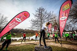 Priprave za Ljubljanski maraton 2019 v sodelovanju s sezanskim Malim kraskim maratonom, on March 9, 2019, in Mostec, Ljubljana, Slovenia. Photo by Vid Ponikvar / Sportida