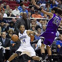 BASKETBALL - NBA - ORLANDO (USA) - 01/11/2008 -  .ORLANDO MAGIC V SACRAMENTO KINGS  (121-103)  JAMEER NELSON / ORLANDO MAGIC
