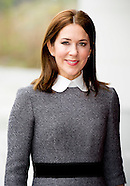CROWNPRINCESS MARY VISITS the the International Criminal Court in The Hague
