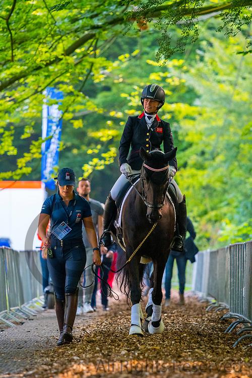 Georgia Wilson - Midnight<br /> FEI European Championships 2019<br /> © DigiShots