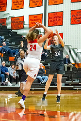 20 February 2020:  Lincoln Way West Warriors v Normal Community West Wildcats for the IHSA Girl's Regional in the gym at Normal Community in Normal IL<br /> <br /> 24