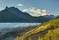 Donoho Peak from Kennecott Glacier, Wrangell-St. Elias National Park Alaska