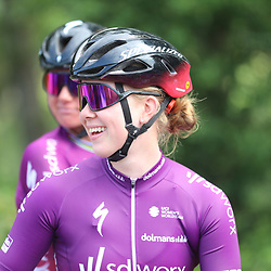 WIJSTER (NED) June 19: <br /> CYCLING <br /> Dutch Nationals Road WOMEN up and around the Col du VAM<br /> Lonneke Uneken