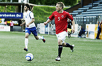 Fotball , 1. juni 2012 , Euro qual. U21 Norge - Azerbaijan 1-0<br /> Norway - Azerbaijan<br /> Joakim Våge Nilsen , Norge<br /> Badavi Guseynov, Azerbaijan
