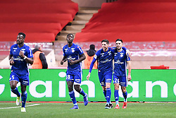January 19, 2019 - Monaco, France - 18 IBRAHIMA SISSOKO (STRA) - 08 JONAS MARTIN (STRA) - 26 ADRIEN THOMASSON (STRA) - JOIE (Credit Image: © Panoramic via ZUMA Press)