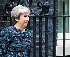 2017-05-03 Theresa May visits Queen to dissolve Parliament ahead of election