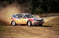 Neal Bates & Coral Taylor - Toyota Corolla WRC - Saxon Safari Tasmania - ARC- 11th-12th September 1999