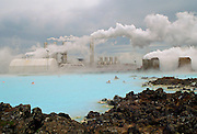 BlueLagoon thermal pool, Iceland