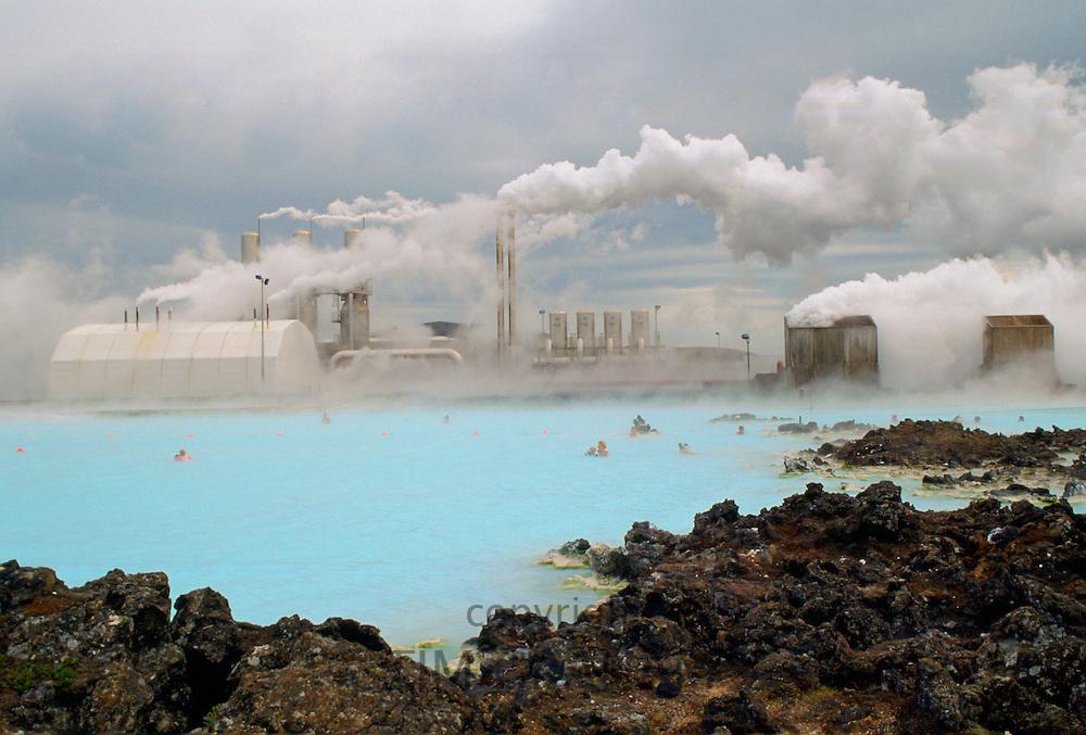 BlueLagoon thermal pool, Iceland