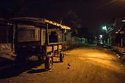 Apenas llega la noche, las calles en Lomas del Carmen quedan desiertas. Por la noche es común que existan tiroteos y según testimonios, todos los días conviven con el asesinato de al menos una persona. (Prometeo Lucero)