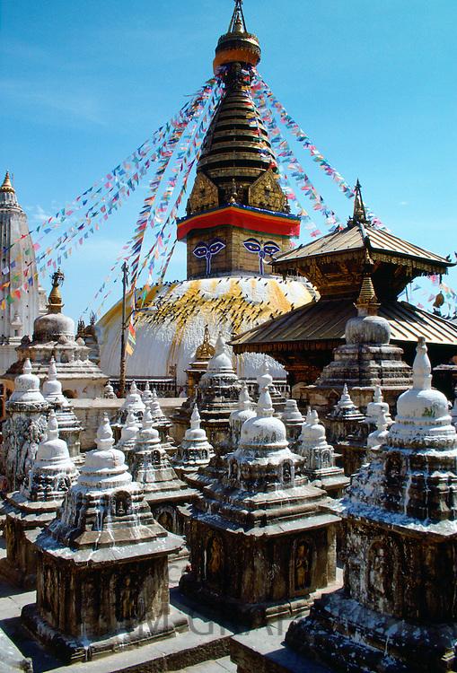 Swayambhunath Stupa, Kathmandu Valley,  Nepal