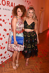 Left to right, Pandora Christie and Olivia Cox at the Floral Ball in aid of Sheba Medical Center hosted by Laura Pradelska and Zoe Hardman and held at One Marylebone, 1 Marylebone Road, London England. 14 March 2017.