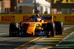 March 23, 2018 - Melbourne, Victoria, Australia - Motorsports: FIA Formula One World Championship 2018, Melbourne, Victoria : Motorsports: Formula 1 2018 Rolex  Australian Grand Prix,   #14 Fernando Alonso (ESP, McLaren-Renault) (Credit Image: © Hoch Zwei via ZUMA Wire)