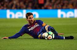 May 6, 2018 - Barcelona, Spain - Leo Messi during the match between FC Barcelona and Real Madrid CF, played at the Camp Nou Stadium on 06th May 2018 in Barcelona, Spain.  Photo: Joan Valls/Urbanandsport /NurPhoto. (Credit Image: © Joan Valls/NurPhoto via ZUMA Press)