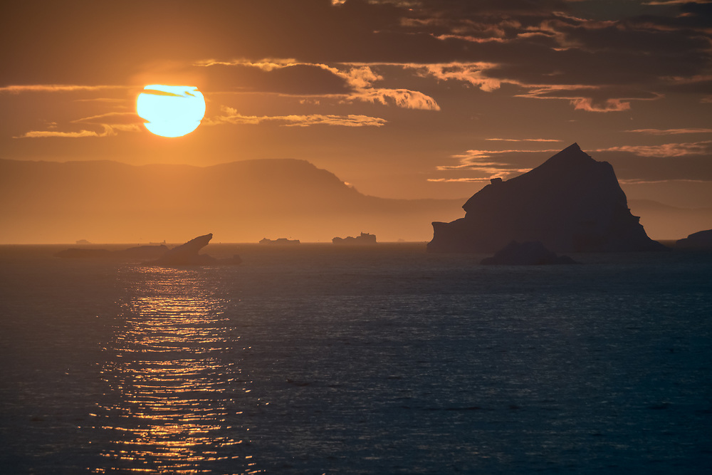 If you happen to be north of the Arctic Circle during Summer months, you can witness a phenomena called Midnight Sun, when the Sun doesn't set at all. It comes close to the horizon and then rises immediately.
