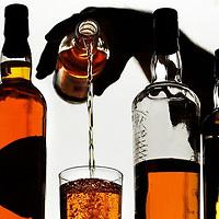 Whisky.Photograph David Cheskin.