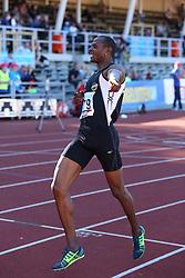 Yeimer López of Cuba winning the 800m. Folksam Grand Prix Göteborg, Slottskogsvallen, 14. juni 2014.