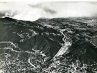 1929 Looking north at the Cahuenga Pass