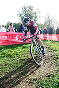 Belgium, November 1 2017:  Marieke Van Witzenburg (Ned), WV Avanti, was 24th in the 2017 edition of the Koppenbergcross. Copyright 2017 Peter Horrell.