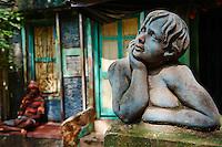 Inde, Bengale Occidental, Calcutta (Kolkata), la vie des rues // India, West Bengal, Kolkata, Calcutta, street life