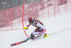 Matt Michael (AUT) during the Audi FIS Alpine Ski World Cup Men's  Slalom at 60th Vitranc Cup 2021 on March 14, 2021 in Podkoren, Kranjska Gora, Slovenia Photo by Grega Valancic / Sportida