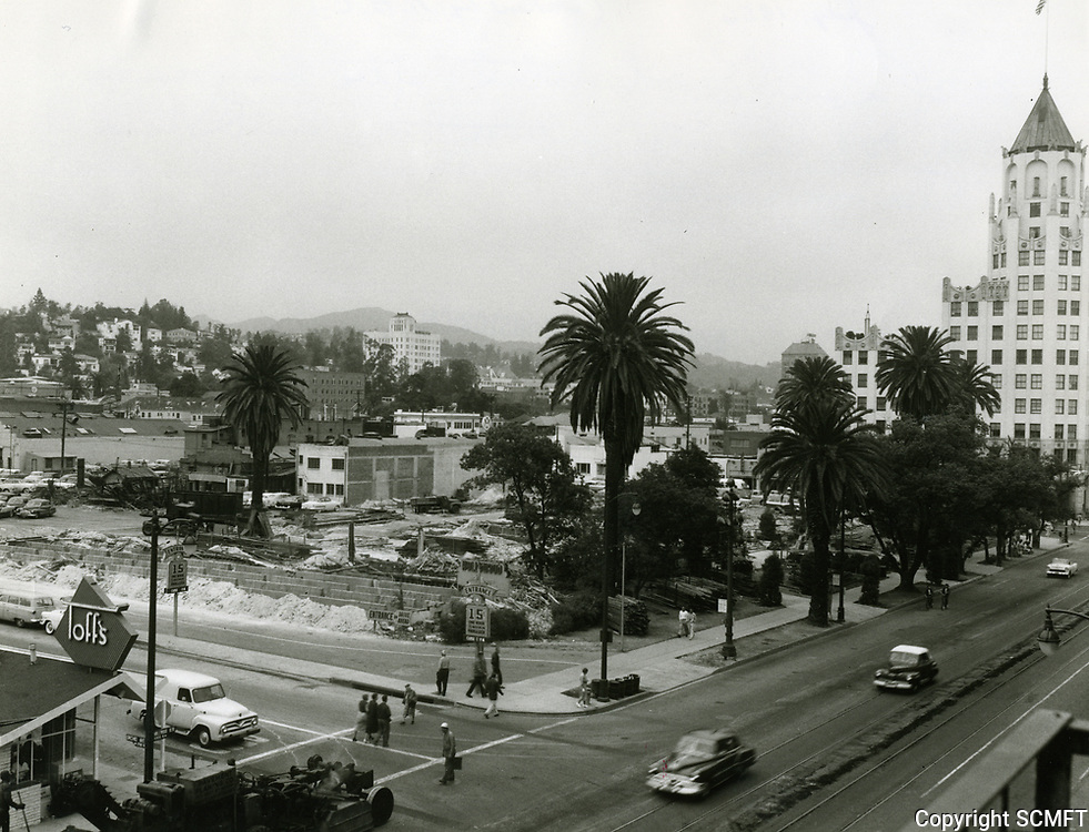 1956 Demolition of The Hollywood Hotel