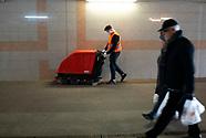 Dezynfekcja przejścia podziemnego w Białymstoku